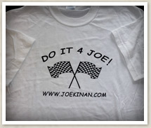 Joe Kinan T-Shirt (Front)